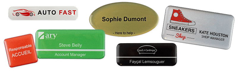 Permanent Name Badges