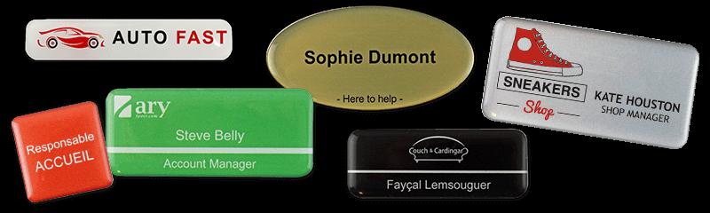 Permanent Name Badges