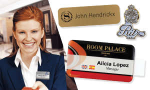 Badges for Hotels & Restaurants