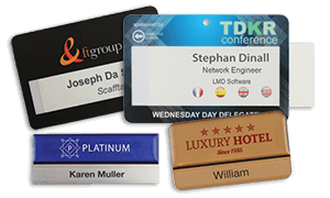 No 1 Name Badges & ID Wristbands Manufacturer in EMEA | PDC BIG