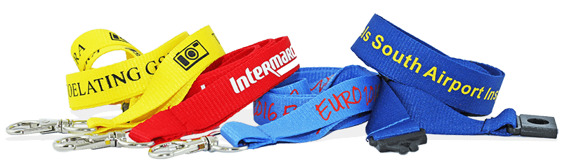 Custom Printed Lanyards - One-Color Print