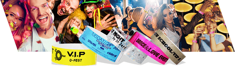 Wristbands for Small Events & Parties