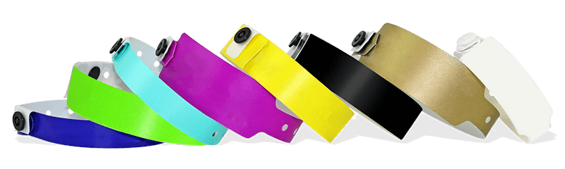 Plain Plastic Wristbands