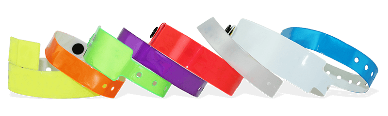 Plain Vinyl Wristbands