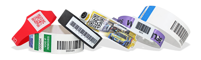 Wristbands with Barcodes