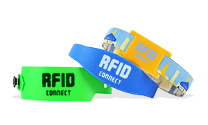 Wristbands with RFID Chip