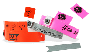 Wristbands with Tabs