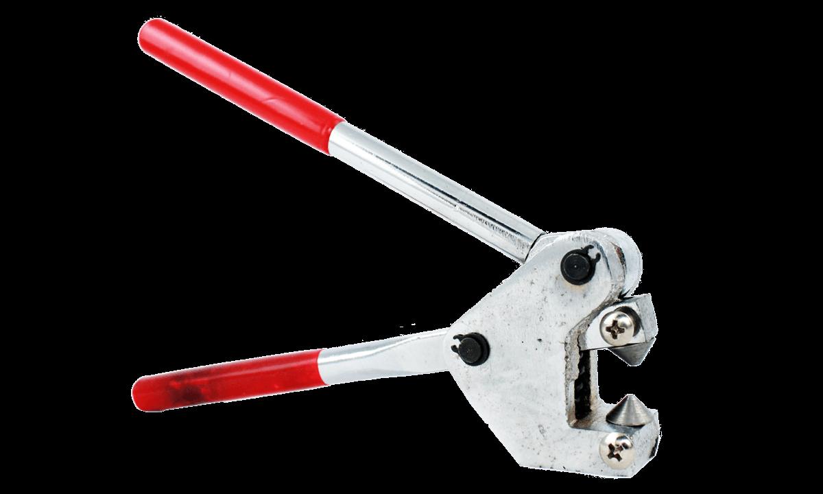Crimping tool for Metal flat closure