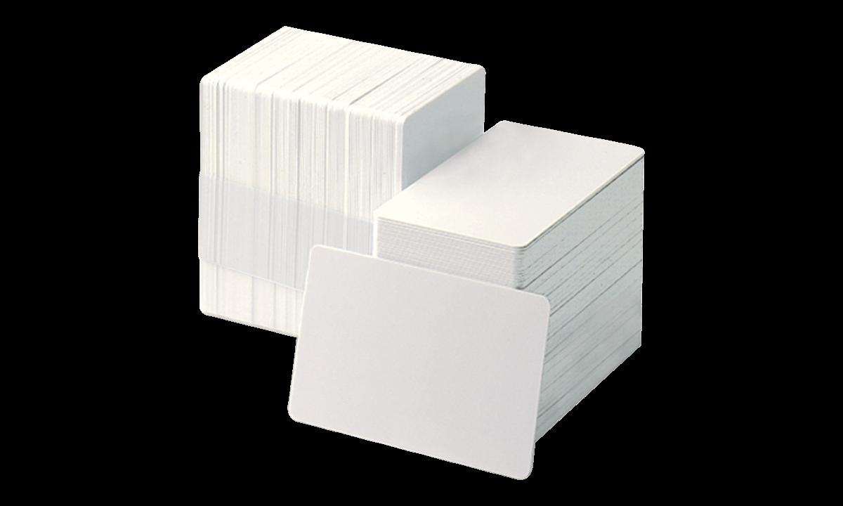 Blank PVC Cards - 250 mic