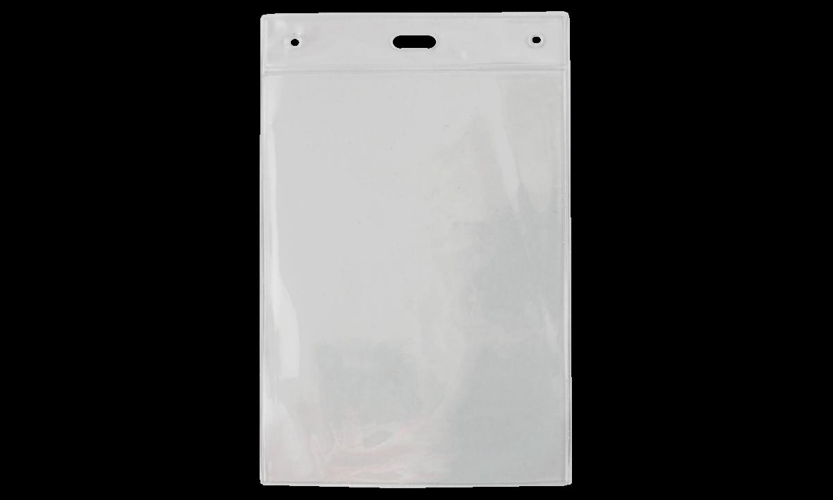 Clear Vinyl Badge Holder - 150 x 110 mm Insert