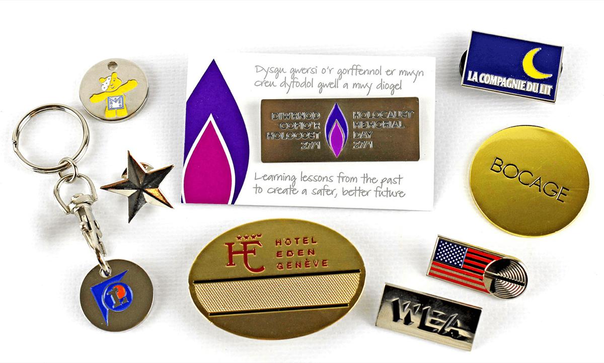 Soft Enamel Metal Badges