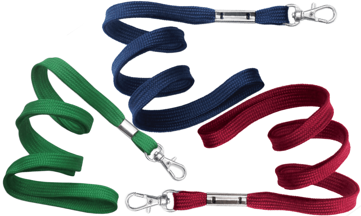 Tubular 10mm Lanyards with Trigger Hook