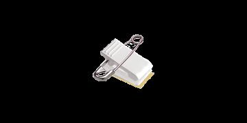 Pin-Clip Attachment with Foam Tape