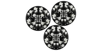 Button badges 38mm, round