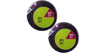 Button badges 45mm, round