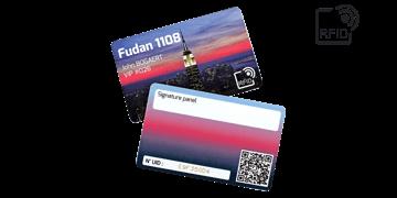 Custom RFID cards 86 x 54 mm - Fudan 1108
