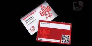 Custom RFID cards 86 x 54 mm - Mifare UltraLight C