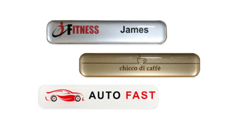 Premium Impress Name Badge, 75 X 15 mm