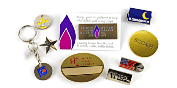 Soft Enamel Metal Badges