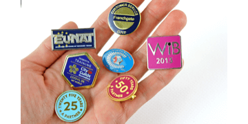 Synthetic Enamel Metal Badges