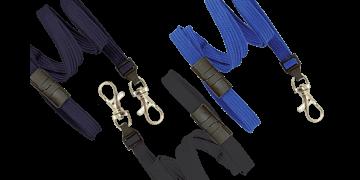Tubular 10mm Break-Away Lanyards with Trigger Hook