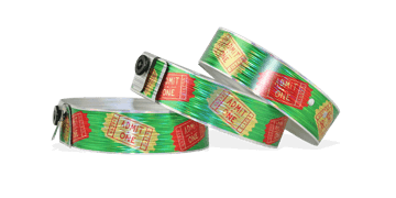 Custom Full-Colour Holographic wristbands 19 mm rain