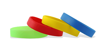 Stock Silicone Bands, Adult size