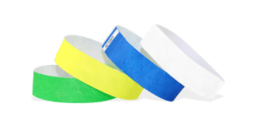 Tyvek wristbands 19 mm
